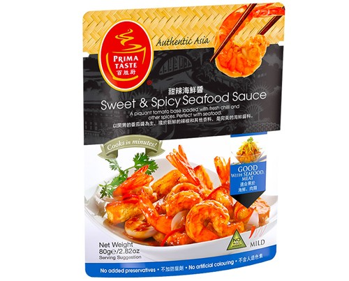 SPrima Singapore Sweet & Spicy Seafood 80g