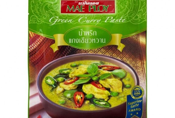 Mae Ploy Thai Green Curry Paste 50g
