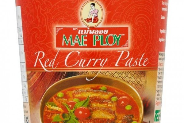 Mae Ploy Thai Red Curry Paste 400g
