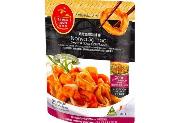 Nonya Sambal Sweet Spicy Chilli Sauce