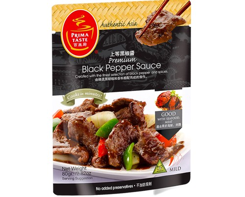 Prima Singapore Black Pepper Sauce